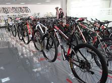 米赛尔自行车展示