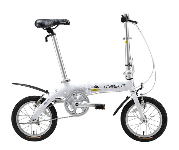 MISSILE米赛尔 F2 超轻量折叠车男女通用便携自行车