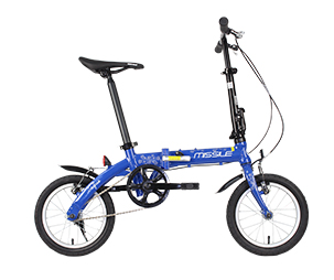 MISSILE米赛尔  F0 折叠车男女通用便携自行车城市休闲通勤