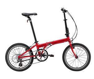 MISSILE米赛尔 F4 超轻量时尚折叠车20寸城市便携自行车
